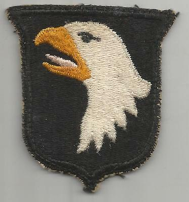White Tongue WW 2 US Army 101st Airborne Division Patch Inv# K383