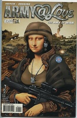 Army @ Love: The Art Of War #1-6 Issue Complete Set (Dc Vertigo)