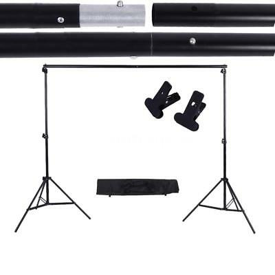 10Ft Crossbar Background Support Stand Photo Video Backdrop Photography Kit Set