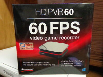 Hauppauge 1600 HD PVR 60 Game Video Capture Device - Xbox One/360, PS4, PC, WiiU