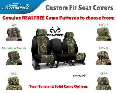Mossy Oak Camo Custom Fit Seat Covers Coverking For Chevy
