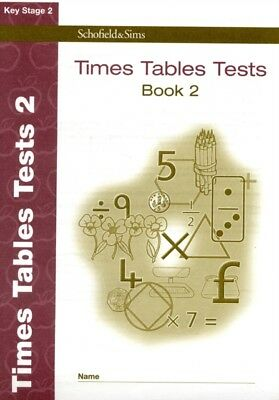 Times Tables Tests Book 2 (of 2): Key Stage 2, Years 3 - 6 (Answe...
