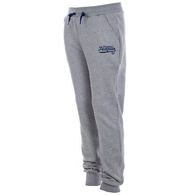 Junior Boys Original Penguin Core Fleece Jog Pants In Grey Heather