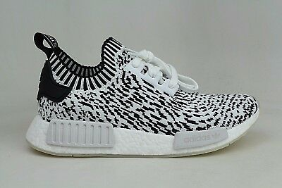 ddaf4f85d Adidas Originals NMD R1 PK Primeknit Sashiko White Black Mens Running  BZ0219 NEW