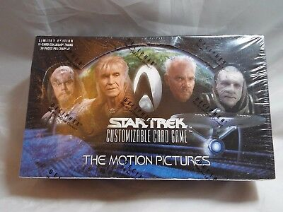 Star Trek Ccg The Motion Pictures Sealed Box Of 30 Booster Packs