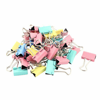 En Papier Bureau Reliure école de Document 40pcs PINCES A CLIP 19 mm