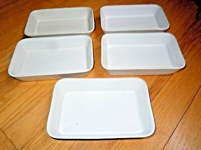 Vintage 5 BRANIFF AIRLINES SERVING DISHES