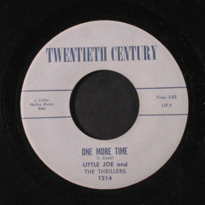 LITTLE JOE: One More Time / I Love You For Sentimental Reasons 45 (wol)
