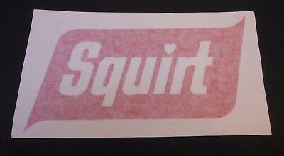 Squirt Stick on Decal