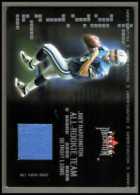 2002 Fleer Premium All-Rookie Team Memorabilia #5 Joey Harrington Jersey 05/50