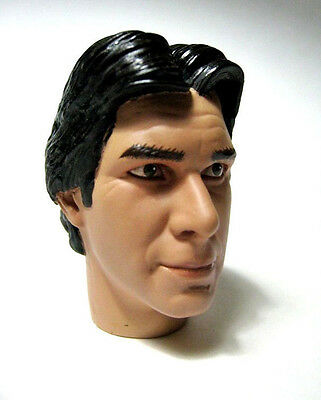 1/6 scale Harrison Ford Sideshow Star Wars Han Solo Head Sculpt for Hot toys 12