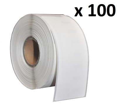 100 x Compatible Dymo 99012 White Large Address Labels 36 x 89mm (S0722400)