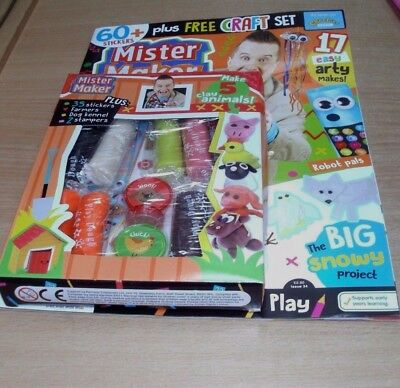 Mister Maker magazine #34 2017 + Make your Own Clay Farmyard Set