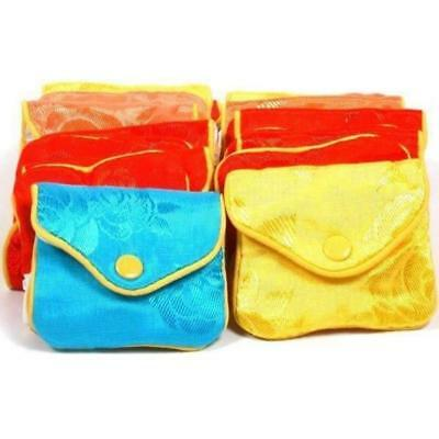 """24 Jewelry Chinese Silk Pouches Bracelet Display 3"""""""