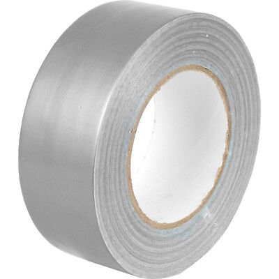 2 x Duck Silver strong Duct Gaffa Gaffer Waterproof Cloth Tape 48mm 2'' 50m