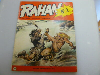 Rahan N° 2 Edition Originale De Avril 1972 Andre Cheret Rare Lire Description