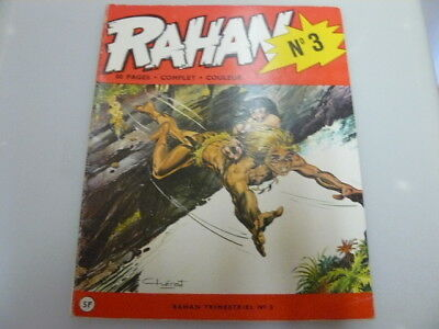 Rahan N° 3 Edition Originale D'octobre 1972 Andre Cheret Rare Lire Description