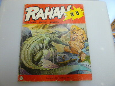 Rahan N° 6 Edition Originale De Juillet 1973 Andre Cheret Rare Lire Description