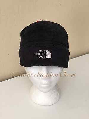 New! The North Face 'Denali' Plush Beanie Youth/Junior Sz: Medium  TNF Black
