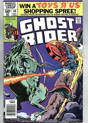 Ghost Rider #49-1980-fn Don Perlin The Wrath of Manitou