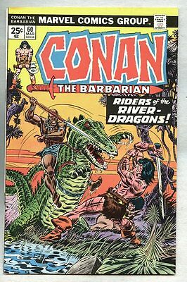 Conan The Barbarian #60-1976 fn/vf John Buscema