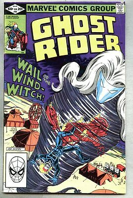 Ghost Rider #66-1982-vg/fn Bob Layton Wind-Witch Wind Witch