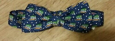 Vineyard Vines Boys Silk Bow Tie Woody Tree NWT