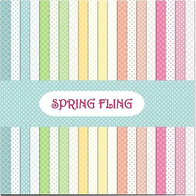 SPRING FLING SCRAPBOOK PAPER - 20 x A4 pages