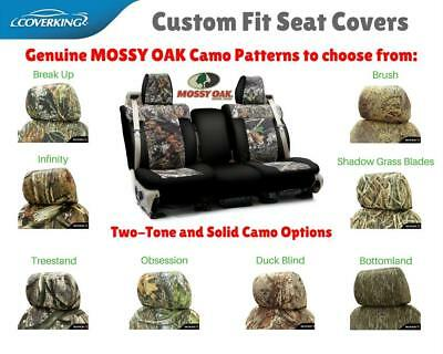 MOSSY OAK CAMO CUSTOM FIT SEAT COVERS - COVERKING for TOYOTA HIGHLANDER