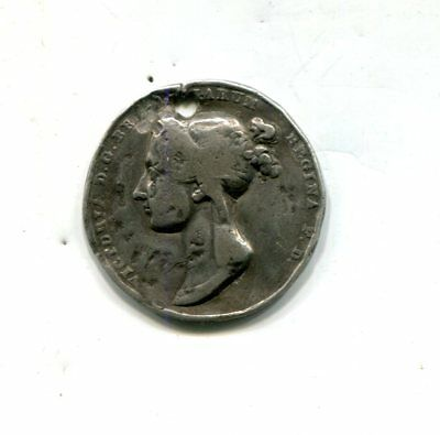 1838 Great Britain Official Coronation Medal Struck on Silver