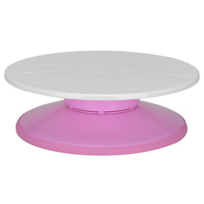 Chic Cake Turntable Security PE Display Stand Home Baking Tool With Nonslip Base