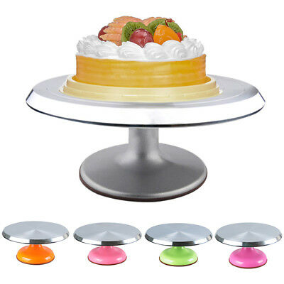 Newest Cake Turntable Steady Dessert Decorating Tools Smooth Surface Cake Stand
