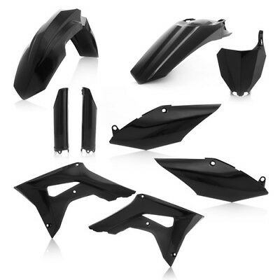Acerbis Black Full Complete Plastic Kit For Honda CRF 450 R 2017 2630700001