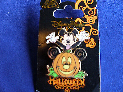Disney * HALLOWEEN * MICKEY & PUMPKIN * Holiday Trading Pin