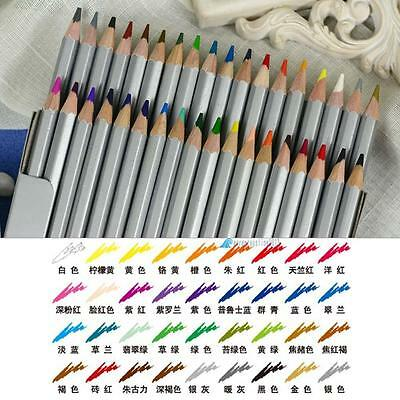 Non-toxic Pencils 72 Colors Marco Fine Art Drawing Oil Base For Artist Sketch BN