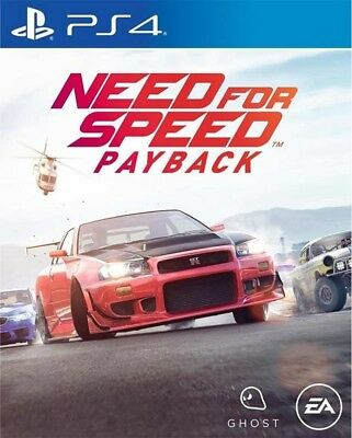 Need for Speed Payback PS4 Game NFS 2017 BRAND NEW SEALED