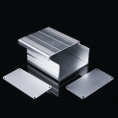 100x100x50mm Aluminum PCB Instrument Box Enclosure Case Electronic Project DIY