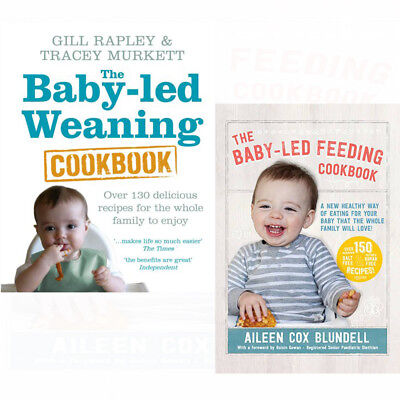 Baby-led Weaning Cookbook Delicious Recipes 2 Books Collection Set Feeding PACK