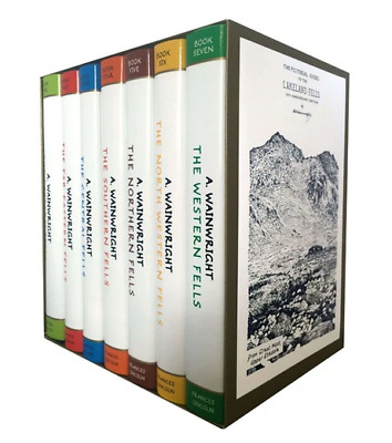 Alfred Wainwright Pictorial Guides Central Fells 7 Books Collection Set NEW  UK