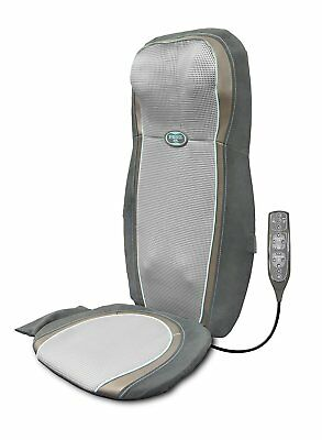 HoMedics 2-in-1 Gel Shiatsu Back and Shoulder Massage Cushion with Technogel
