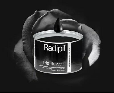 Radipil Black Wax Ceretta Depilatoria Nera 400ml