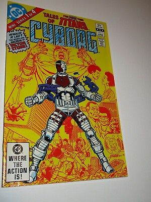 TALES OF THE NEW TEEN TITANS: CYBORG 1 High Grade 9.6 - 9.8 1ST PRINT, ORIGIN