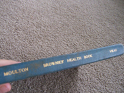 Antique Book THE BROWNIES HEALTH BOOK 1928 Mouten OLD SCHOOL HEALTH BOOK