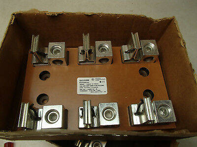 Ferraz Shawmut 62003J fuse holder block 600v 200A 3-pole