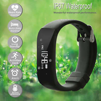 Fitness Activity Tracker Sport Smart Watch Band Heart Rate Blood Pressure Lot