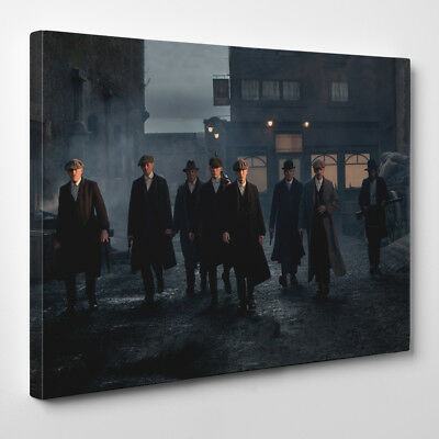 Peaky Blinders Gang - Framed Canvas Art Print - Shelby Brothers LTD