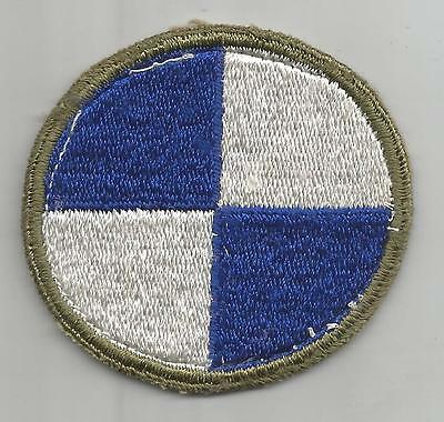 WW 2 US Army 4th Corps Patch Inv# H280