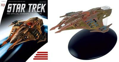 Star Trek Starships Collection #113 Lokirrim Fighter Eaglemoss (111 112)