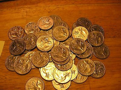 1776-1976 40 Coins Bicentennial Quarters Available In Lots Of 10.