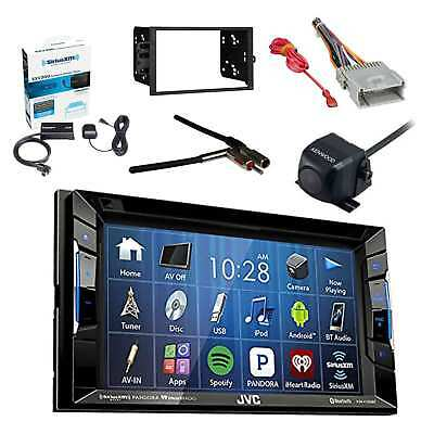 Car Receiver W/ Radio Tuner, Rearview Camera, Dash Kit, Adapter & Wiring Harness